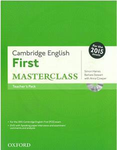 FIRST FCE MASTERCLASS TCHR'S REVISED 2015