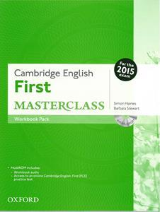 FIRST FCE MASTERCLASS WORKBOOK WITHOUT KEY (+CD) REVISED 2015