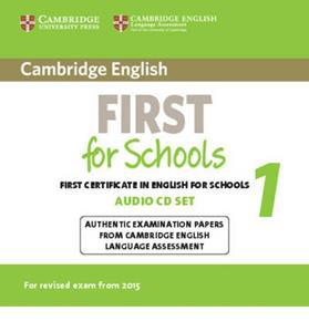 FIRST FCE FOR SCHOOLS 1 CDs