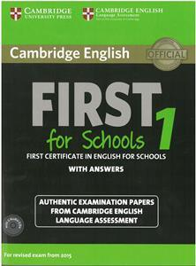 FIRST FCE FOR SCHOOLS 1 SELF STUDY PACK (ST/BK+ANSWERS+AUDIO)