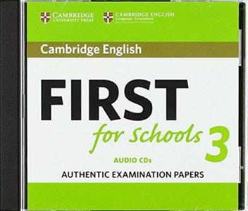 FIRST FCE FOR SCHOOLS 3 CDs