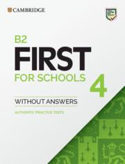FIRST FCE FOR SCHOOLS 4 ST/BK
