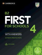 FIRST FCE FOR SCHOOLS 4 SELF STUDY PACK (ST/BK W/ANSWERS & AUDIO)