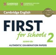 FIRST FCE FOR SCHOOLS 2 CDs