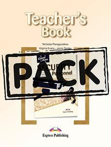 CAREER PATHS SECURITY PERSONNEL TCHR'S PACK